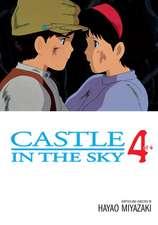 Castle in the Sky Film Comic, Vol. 4