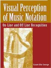 Visual Perception of Music Notation