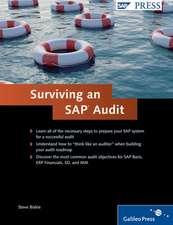 SURVIVING AN SAP AUDIT