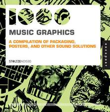 1,000 Music Graphics (Mini):  A Compilation of Packaging, Posters, and Other Sound Solutions