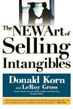 The New Art of Selling Intangibles
