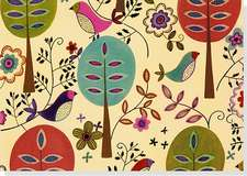 Folk Art Birds Note Cards [With 15 Envelopes]:  Your Personal Guide to Optimum Health
