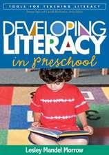 Developing Literacy in Preschool