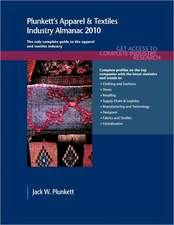 Plunkett's Apparel & Textiles Industry Almanac 2010