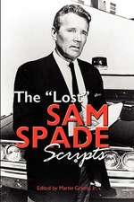 The Lost Sam Spade Scripts