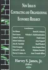 New Ideas in Contracting and Organizational Economics Research