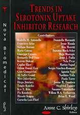 Trends in Serotonin Reuptake Inhibitor Research