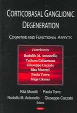Corticobasal Ganglionic Degeneration