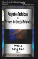 Adaptation Techniques in Wireless Multimedia Networks