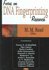 Focus on DNA Fingerprinting Research