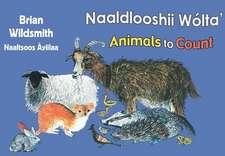Brian Wildsmith's Animals to Count (Navajo/English)