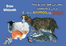 Brian Wildsmith's Animals to Count (Farsi/English)