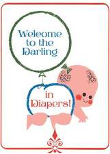 Crawling Baby with Balloon New Child Greeting Card [With Envelope]