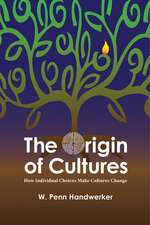 The Origin of Cultures: HOW INDIVIDUAL CHOICES MAKE CULTURES CHANGE