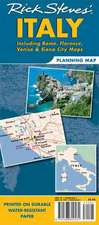 Rick Steves Italy Planning Map: Including Rome, Florence, Venice and Siena City