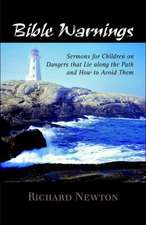 Bible Warnings:  Sermons to Children