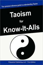 TAOISM FOR KNOW-IT-ALLS