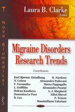 Migraine Disorders Research Trends