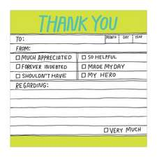 Hand-Lettered Lined Pad-Small