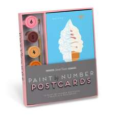 Sweet Treats Paint-by-Number Postcards Kit