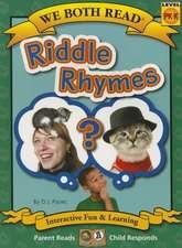 Riddle Rhymes (We Both Read - Level Pk-K)