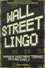 Wall Street Lingo