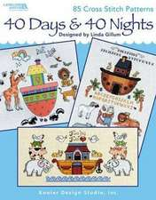 40 Days & 40 Nights (Leisure Arts #4613)