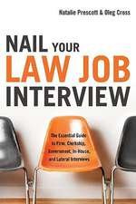 Nail Your Law Job Interview