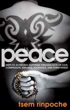 Peace:  Steps to Achieving Happiness Through Acts of Love Compassion KI