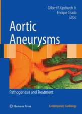 Aortic Aneurysms: Pathogenesis and Treatment