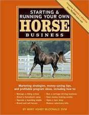 Starting & Running Your Own Horse Business
