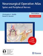 Neurosurgical Operative Atlas: Spine and Peripheral Nerves