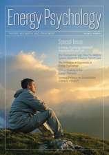 Energy Psychology Journal 6:  1