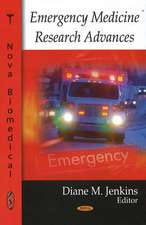 Emergency Medicine Research Advances