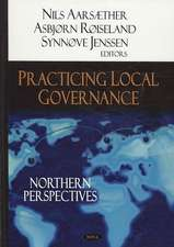 Practicing Local Governance
