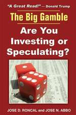 The Big Gamble:  Are You Investing or Speculating?