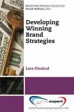 Developing Winning Brand Strategies