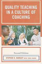 Barkley, S: Quality Teaching in a Culture of Coaching