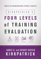 Kirkpatrick S Four Levels of Training Evaluation