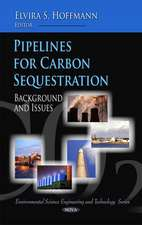 Pipelines for Carbon Sequestration
