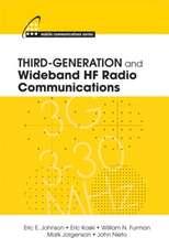 Third-Generation and Wideband Hf Radio Communications:  Analysis, Design, Fabrication and Measurement