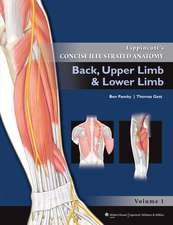 Lippincott Concise Illustrated Anatomy: Back, Upper Limb and Lower Limb
