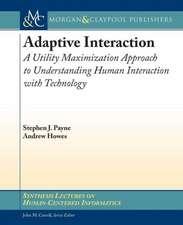 Adaptive Interaction