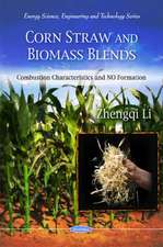 Corn Straw and Biomass Blends