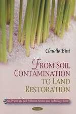 Soil Contamination to Land Restoration