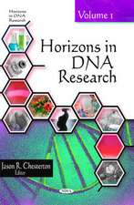 Horizons in DNA Research