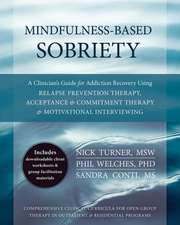 Mindfulness-Based Sobriety:  A Clinician's Treatment Guide for Addiction Recovery Using Relapse Prevention Therapy, Acceptance & Commitment Therapy