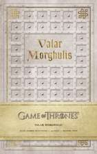 Valar Morghulis Hardcover Ruled Journal