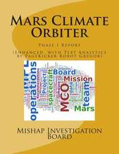 Mars Climate Orbiter:  Phase I Report