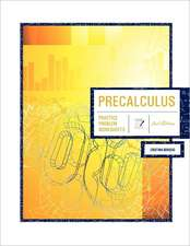 Precalculus 2nd Edition:  Practice Problem Worksheets